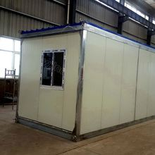 Two story light steel frame prefabricated house with low price