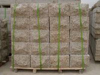 Quarry & Factory Yellow rustic granite Exterior Wall Stone Tile/ Wall Claddings Tiles
