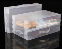 China Wholesale Plastic Shoe Storage Transparent White Box Container for Boot Organizer Yongkang Supplier