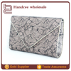 High-end wholesale fashion elegance flower lace brand name ladies purse