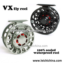 Cnc machine cut large arbor saltwater fly reel