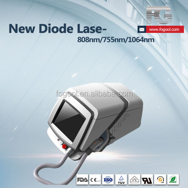 50 million shots!!! 808nm laser hair removal machine with longer lifetime than Alma Soprano 810nm