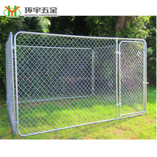 10x10x6 foot classic galvanized outdoor dog kennel for sale