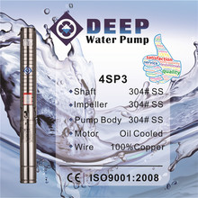 Factory Directly deep well submersible pump 1 inch