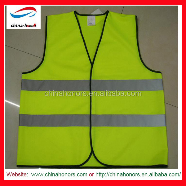 OEM service CE EN ISO 20471:2013 CLASS 2 Hi vis clothing reflective vests with pockets custom logo reflective safety jacket vest