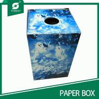 SPECIAL ROUND MOUTH CORRUGATED PACKAGING BOX