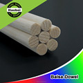 Customized ShangHai China factory light long rod balsa round wood dowels