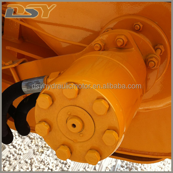 BMH OMH Orbit Hydraulic Wheel Motor For Mini and Walk Behind Skid Steers