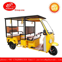 electric battery operated three wheel solar power tour vehicle for passenger can be sightseeing bus