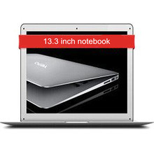 13.3 inch Notebook 737S Intel Cherry Trail X5 Z8300 1.44GHz Quad Core 4GB RAM 128 eMMC FHD Screen Bluetooth 4.0