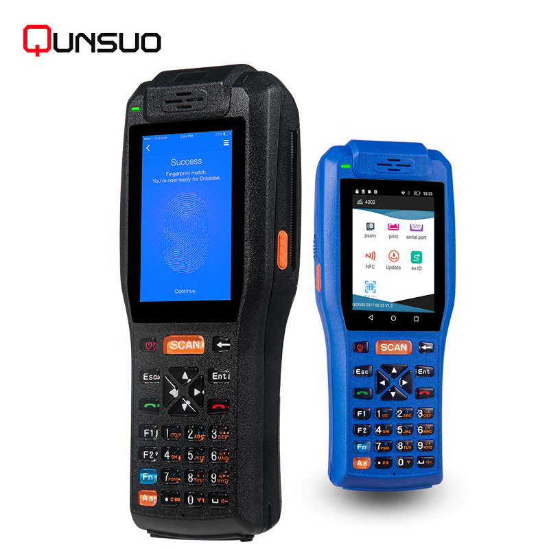 Portable handheld data terminal pda android 2d barcode scanner
