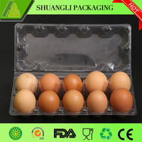 Hot sale 10 Packs plastic egg catons for sale