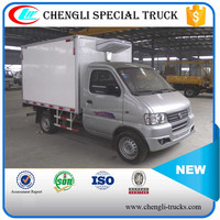 Dongfeng 4*2 LHD 1Ton Mini Refrigerated Van Cooling Box Truck