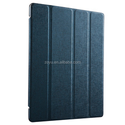 four folds PU leather case for ipad 4 , cover and case for ipad 4 case ,