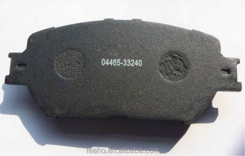FOR TOYOTA AUTO BRAKE PADS 04465-12430 FOR JAPANESE CAR SPARE PARTS