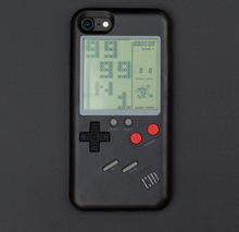 Saiboro new products 2018 Tetris Game Phone Case for iphone 8