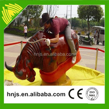 Jinshan Brand Indoor Amusement Park Rides Inflatable Mechanical Rodeo Bull Price