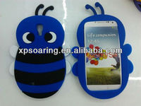 For Samsung Galaxy S4 bee silicone Skin Soft Gel Case Phone Cover