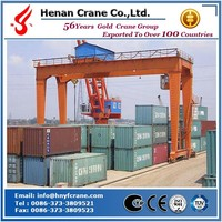 Harbour rail mounted container gantry crane/RMG/ from yufei brand