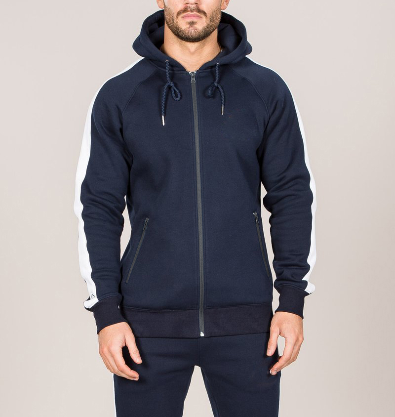 slim fit tracksuit, mens polyester tracksuit