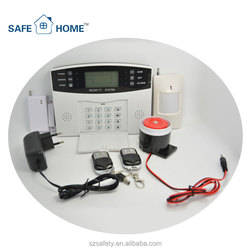 Practical Economic Household GSM Auto Dialer for Existing Alarm Systems