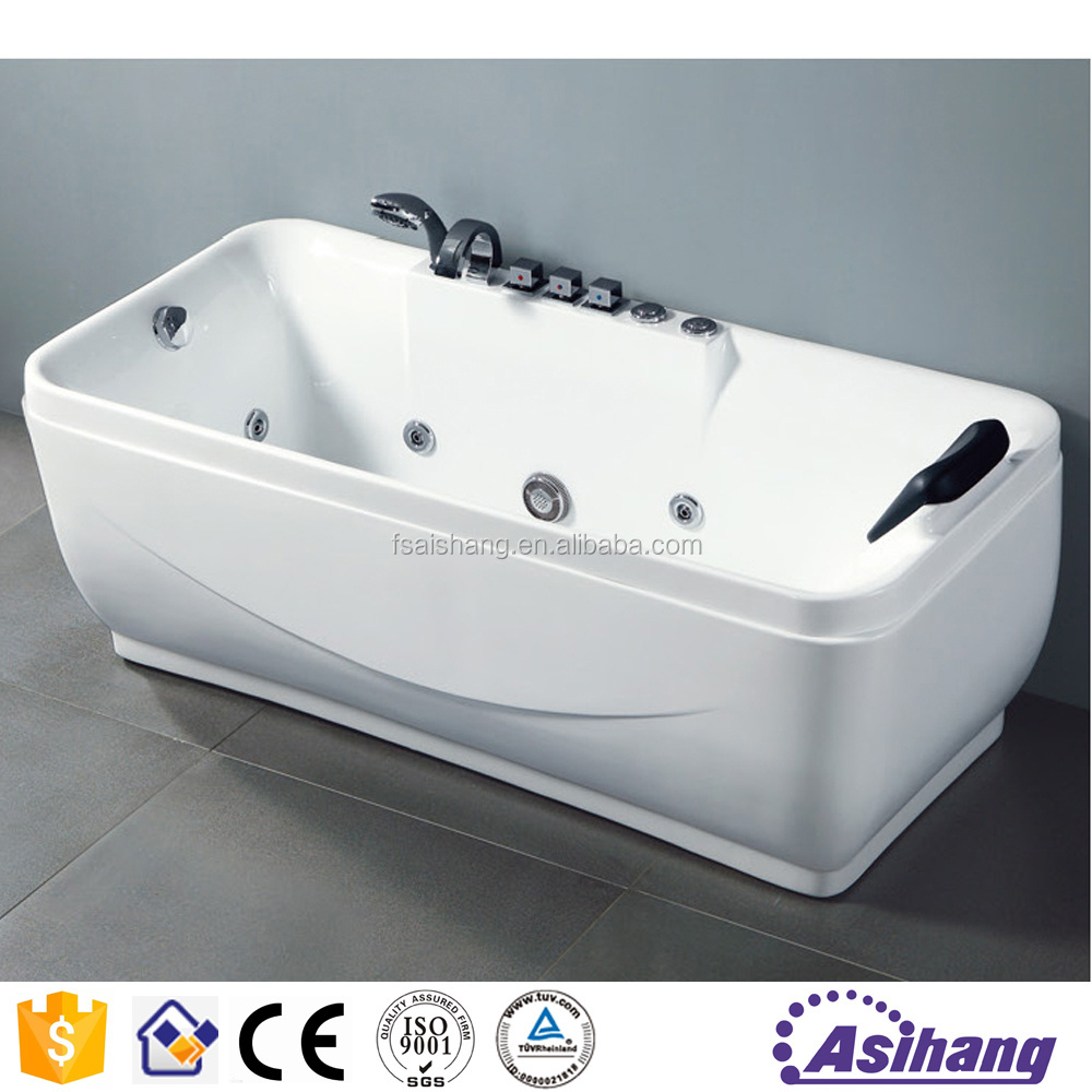AS32149 special design cheap price double whirlpool bathtubs