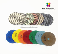 Midstar diamond resin dry polishing pad