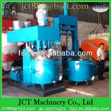 Machine for making acid rubber