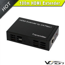Vision silver HDMI extender over single 100m Ethernet cat 5e/6