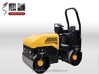 2 ton smooth drum self-propelled vibratory road roller DC-51C