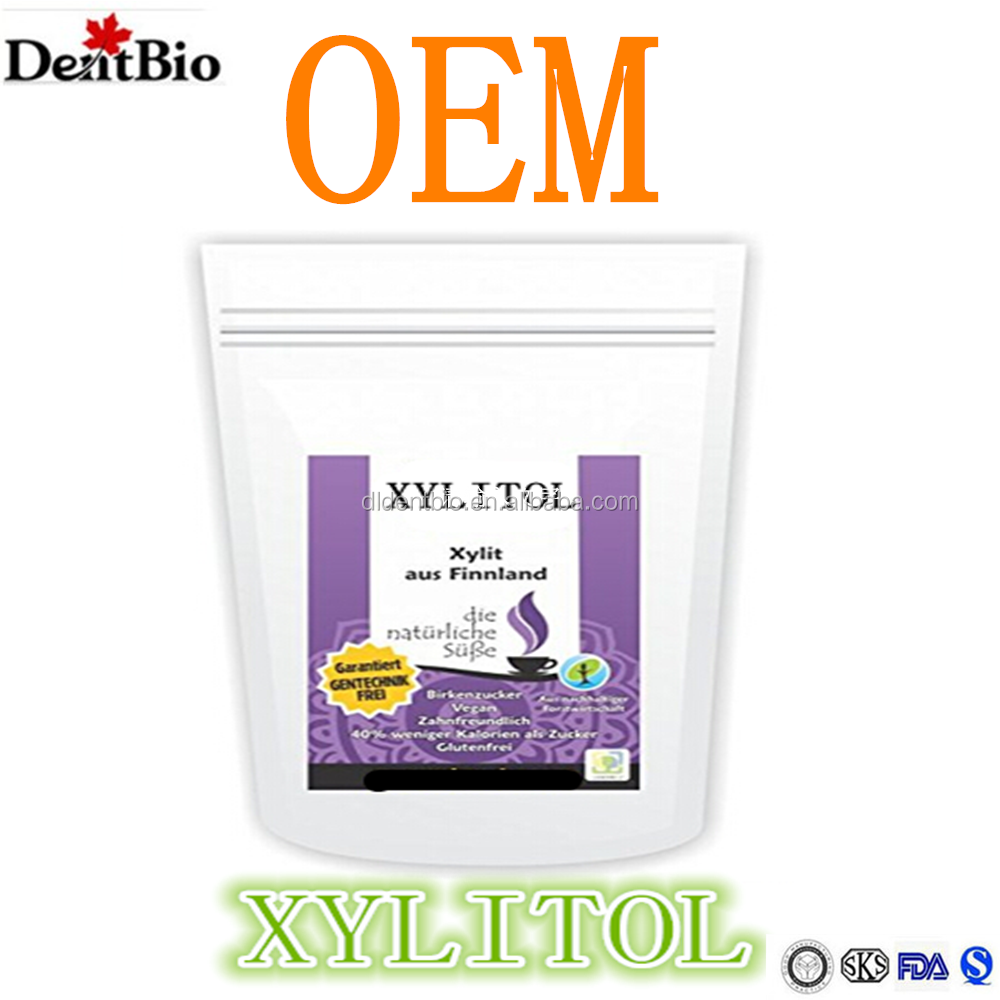 Natural xylitol sweetener xylitol