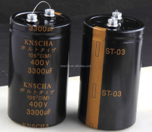 high-power screw terminal aluminum electrolytic capacitors 33000 UF 63V 250V 1 PCS batch