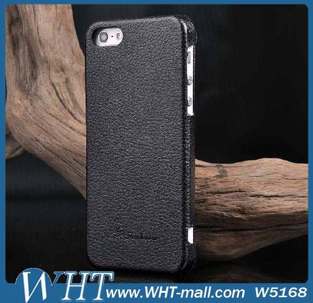 Manufacturers Mix Order Accept for iPhone 5s Case Leather, for iPhone 5s Genuine Leather Case WHTS009