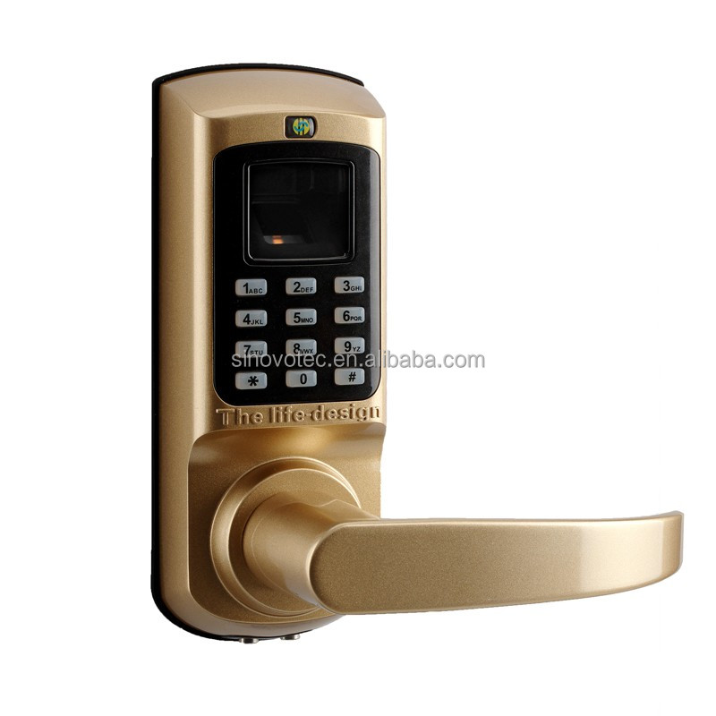 fingerprint sensor door locks electronic key keyless cylinder lock