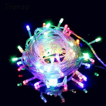 Christmas lights Outdoor Decoration 10M 100 LED Waterproof String Fairy Light Garland Navidad Wedding Decoration