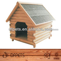 Hot Sale Wooden Dog Kennel With Apex Roof DFD006