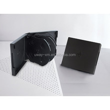 Black 27mm 10 discs DVD case/27mm dvd box for 10 discs