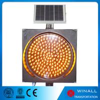2016 roadway safety warning rotating signal yellow light