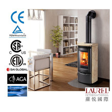 good quality prity smokeless wood pellet stove for Europe