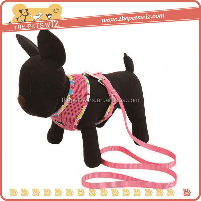 Supply dog harness ,CC155 adjustable dog harness with pocket , soft pet vest dog harness