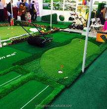synthetic turf grass practice golf carpet/mat