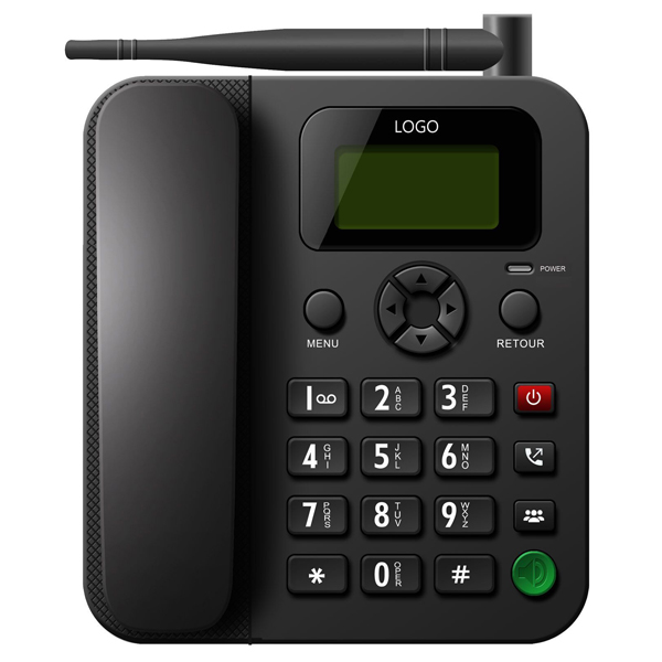 2015 hotsale wireless phone ,Desktop backlight gsm fixed Cordless Telephone