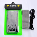 Mobile Phone Accessory Clear Waterproof Pouch Bag Dry Case with Armband