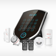 Home Security Motion Sensor Infrared Alarm , Smart Home Alarm 3G + PSTN + Contact ID Home Alarm System