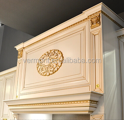 modern euro style solid wood kitchen cabinets for you