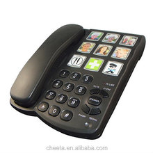 office desk phone telephone for elderly big button old man phone