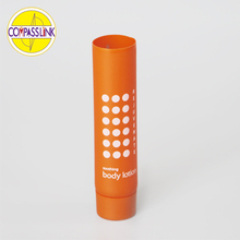 Diameter 25mm hotel amenities PE Cosmetic tubes with colored printing