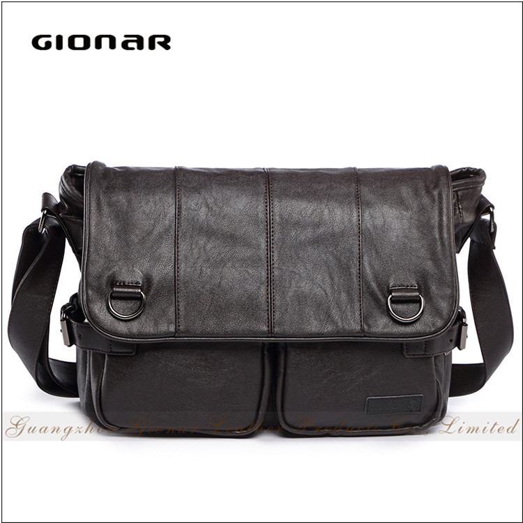 Factory Wholesale Travel Sport Men PU <strong>Leather</strong> for Bag