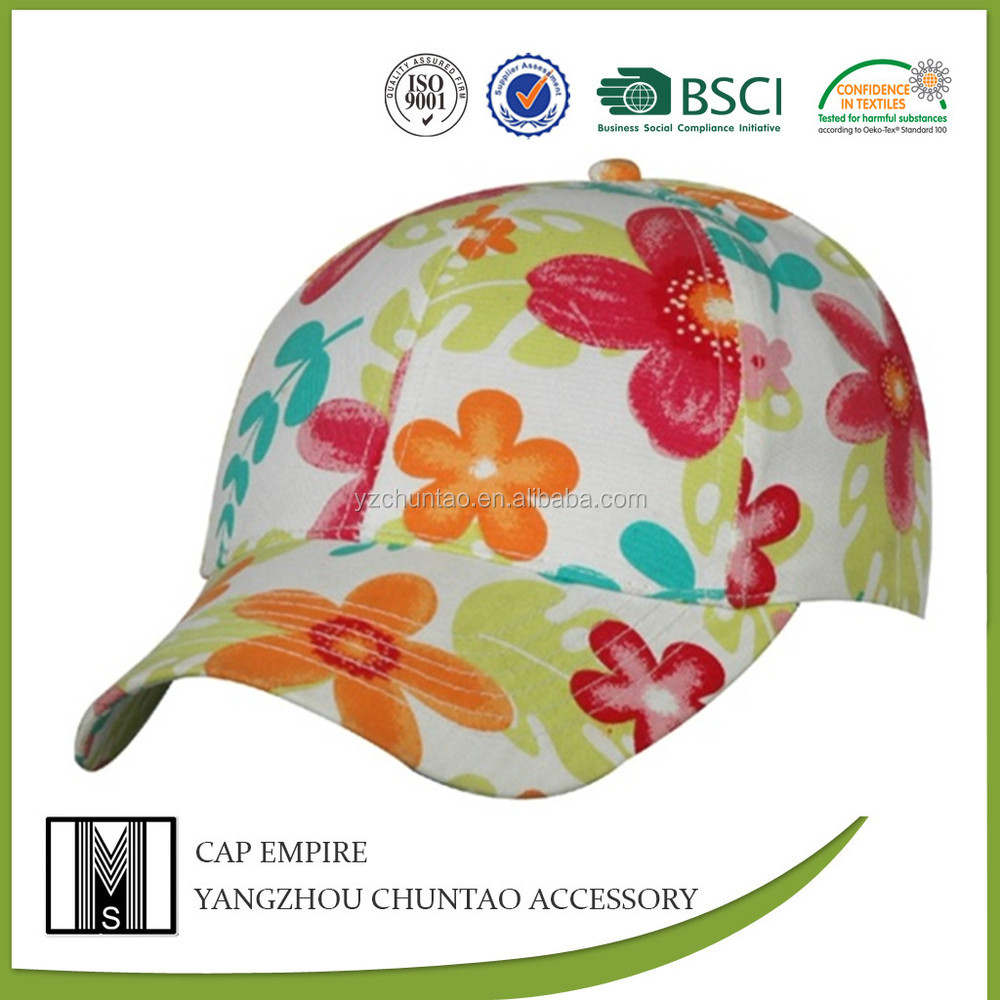 BSCI Audit High Quality wholesale <strong>custom</strong> all printing baseball caps
