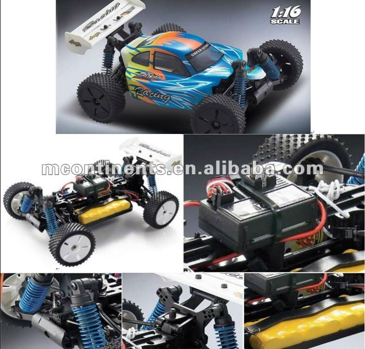 1:16 off road R/C electric buggy